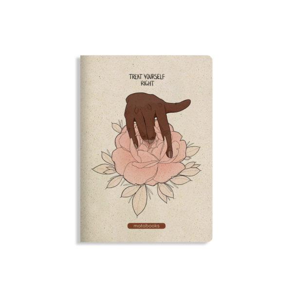 Notizbuch Tara Teat yourself right – blanko