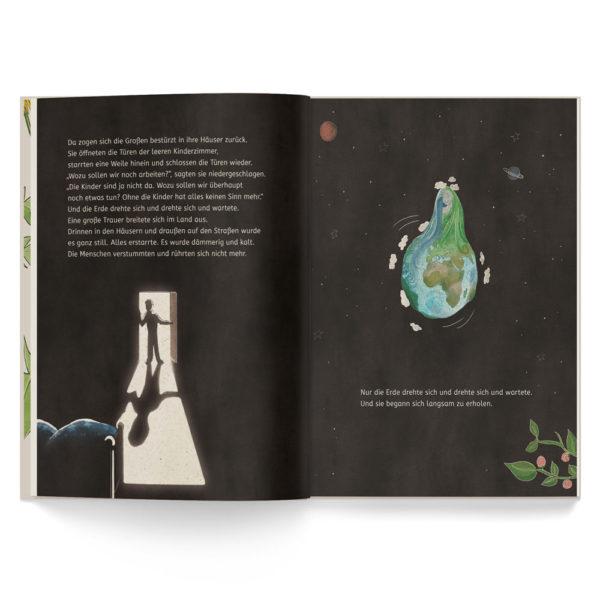 Kinderbuch – Die Kinder in der Erde – Leseprobe 3
