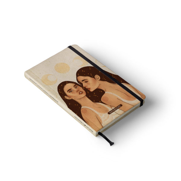 Notizbuch Nari Universe Sisters – punktiert – Matabooks