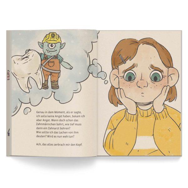 Kinderbuch – Die Geschiche vom Zahnmännchen – Leseprobe 3