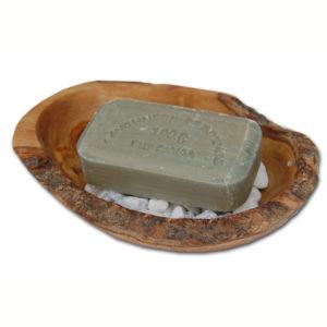 Seifenschale Stonebase aus Olivenholz von Olivenholz-erleben
