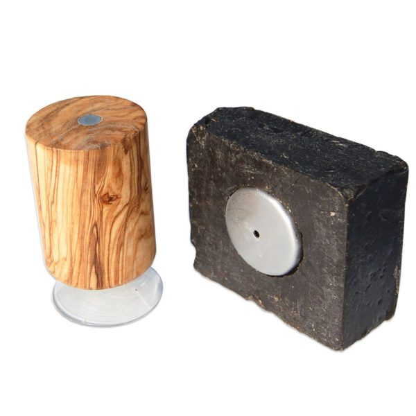 Magnetseifenhalter Pisa aus Olivenholz von Olivenholz-erleben