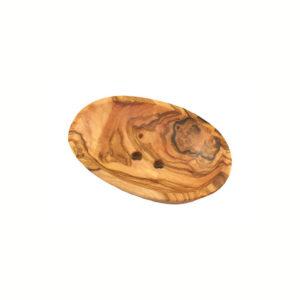 Mini-Seifenschale aus Olivenholz von Olivenholz-erleben
