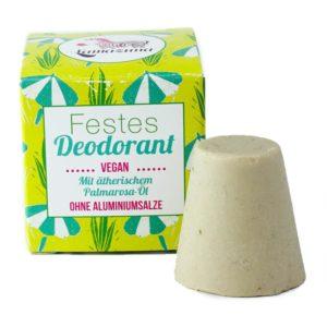 Festes Deodorant Palmarosaöl von Lamazuna