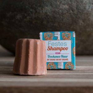 Festes Shampoo Orange von Lamazuna