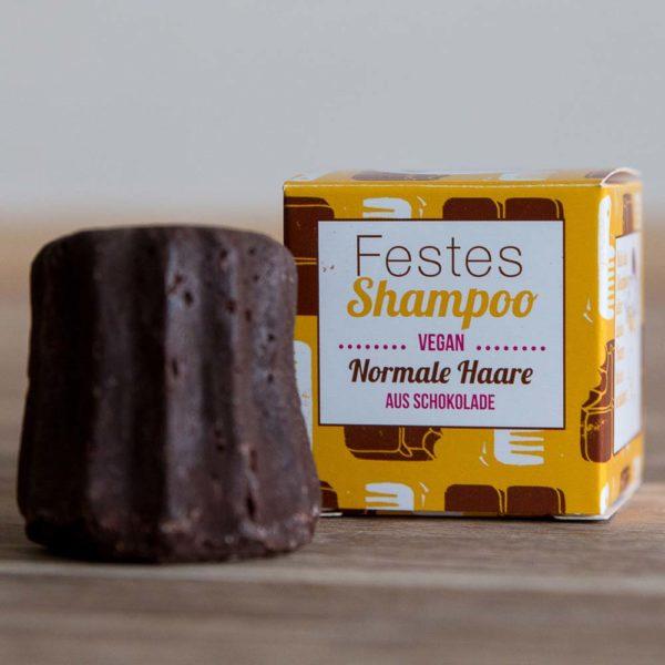 Festes Shampoo Schoko von Lamazuna