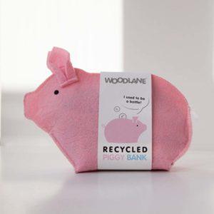 Sparschwein Piggy Bank rosa von Woodlane