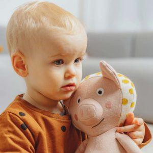 Kuscheltier Schwein Elsa