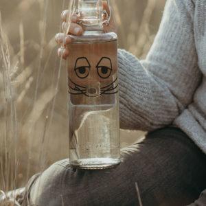 Glastrinkflasche Die große Maus - 1,0l