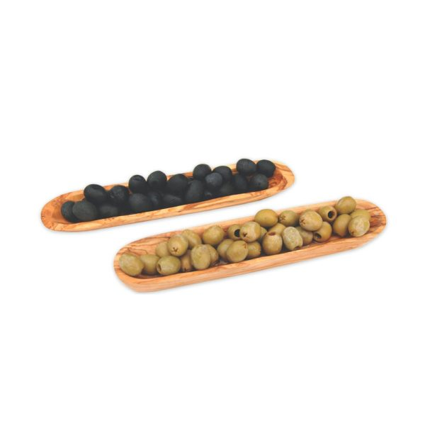 Olivenschiffchen aus Olivenholz von Olivenholz-erleben