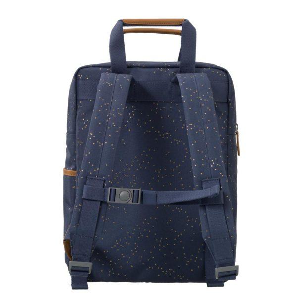 Rucksack groß indigo dots von Fresk