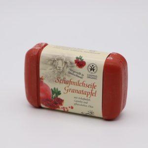 Schafmilchseife Granatapfel von Saling