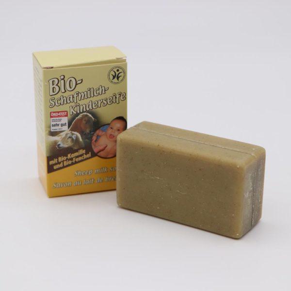 Bio-Kinderseife aus Schafmilch von Saling