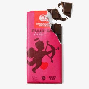 Bio-Schokolade Pure Liebe 65% von Chocolatemakers