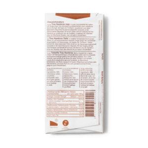 Bio-Schokolade Schokofahrt Tres Hombres 40% mit Meersalz von Chocolatemakers