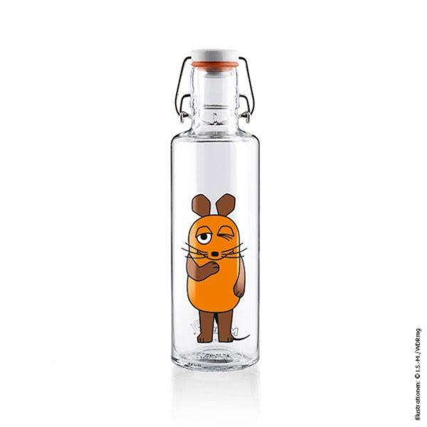 Glastrinkflasche Die Maus – 0,6 l