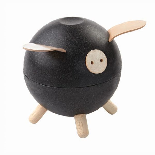 Sparschwein schwarz von Plantoys