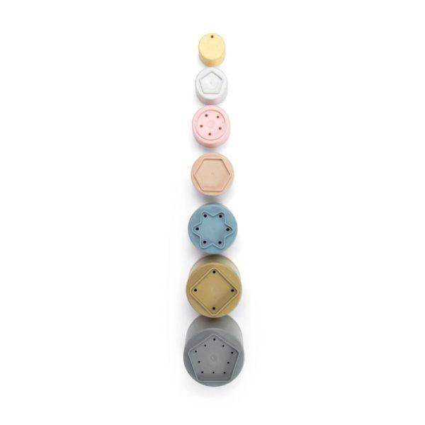 Spiel-Set Tiny Stapelbecher aus Bio-Kunststoff von Dantoy
