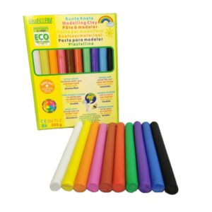 Nachhaltige Knete in vielen schönen Farben.