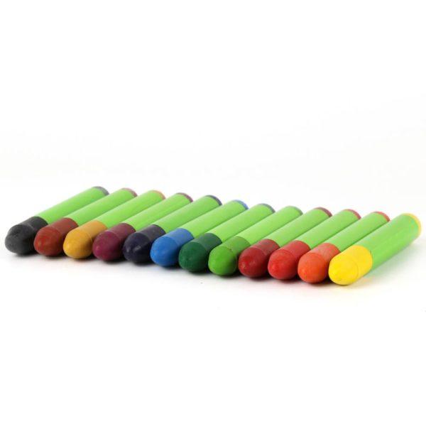 Wachsmalstifte Nawaro 12 Farben von Ökonorm