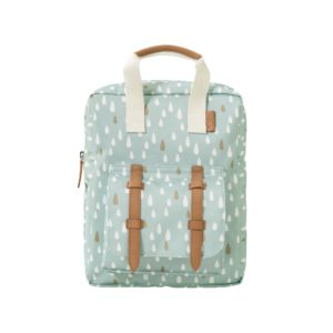 Hübscher Rucksack für Kinder aus recycelten PET-Flaschen.