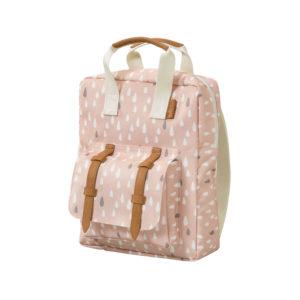 Niedlicher Rucksack aus Recycling-Stoff für Schule und Kindergarten.
