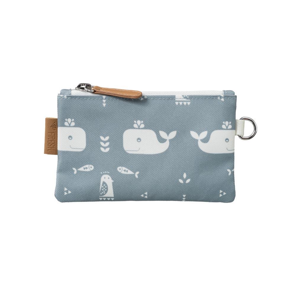 Geldbörse klein Whale blue fog von Fresk