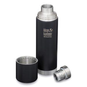 Isolierflasche TKPro vakuumisoliert black 1 Liter von Klean Kanteen