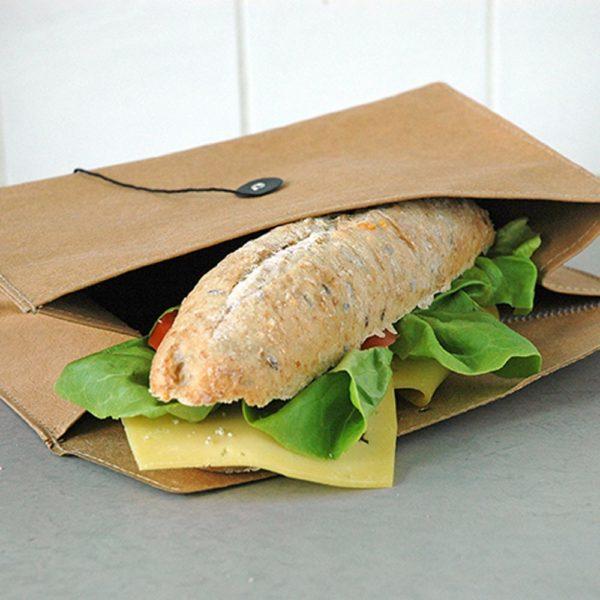 Nachhaltiger Baguettebeutel aus Papier von Zuperzozial
