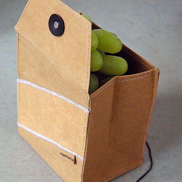 Nachhaltiger Obstbeutel aus waschbarem Papier von Zuperzozial.