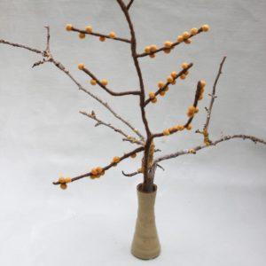 Zweig mit Beeren yellow von Én Gry & Sif