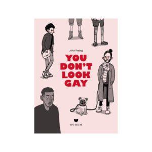 Aufklärungsbuch You don't look gay von Bohem