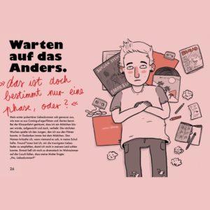Jugendbuch You don't look gay von Bohem