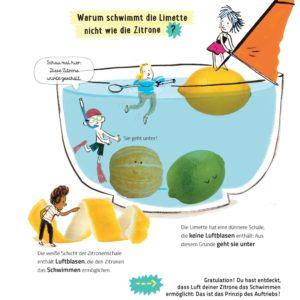 Aktivitätsbuch Experiment Zitrone von Bohem