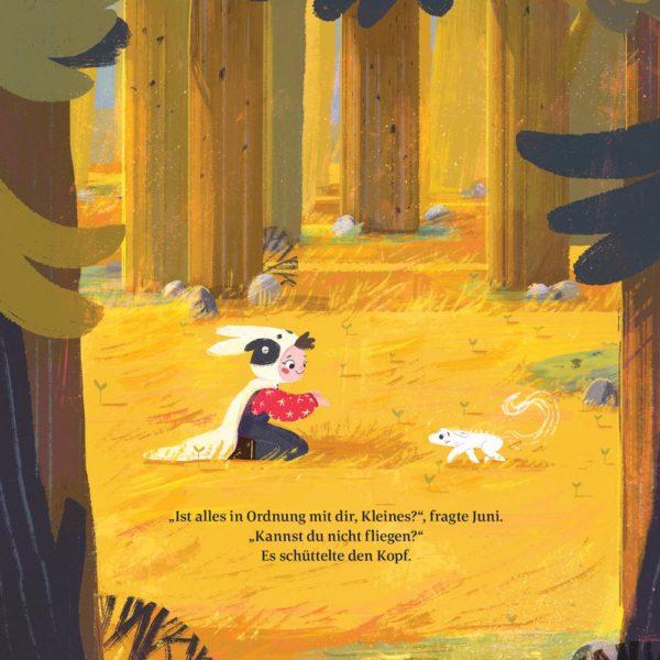 Kinderbuch Das erste Einhörnchen von Bohem