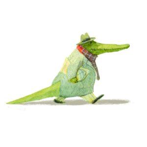 Bilderbuch Krokodrillo von Bohem