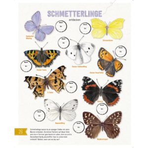 Aktivitätsbuch Natur von Bohem