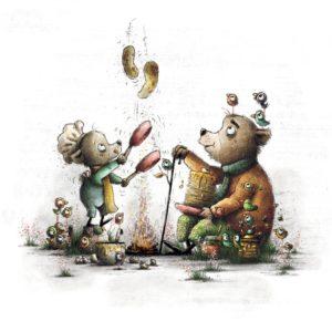 Kinderbuch Heiße Milch mit Honig von Bohem