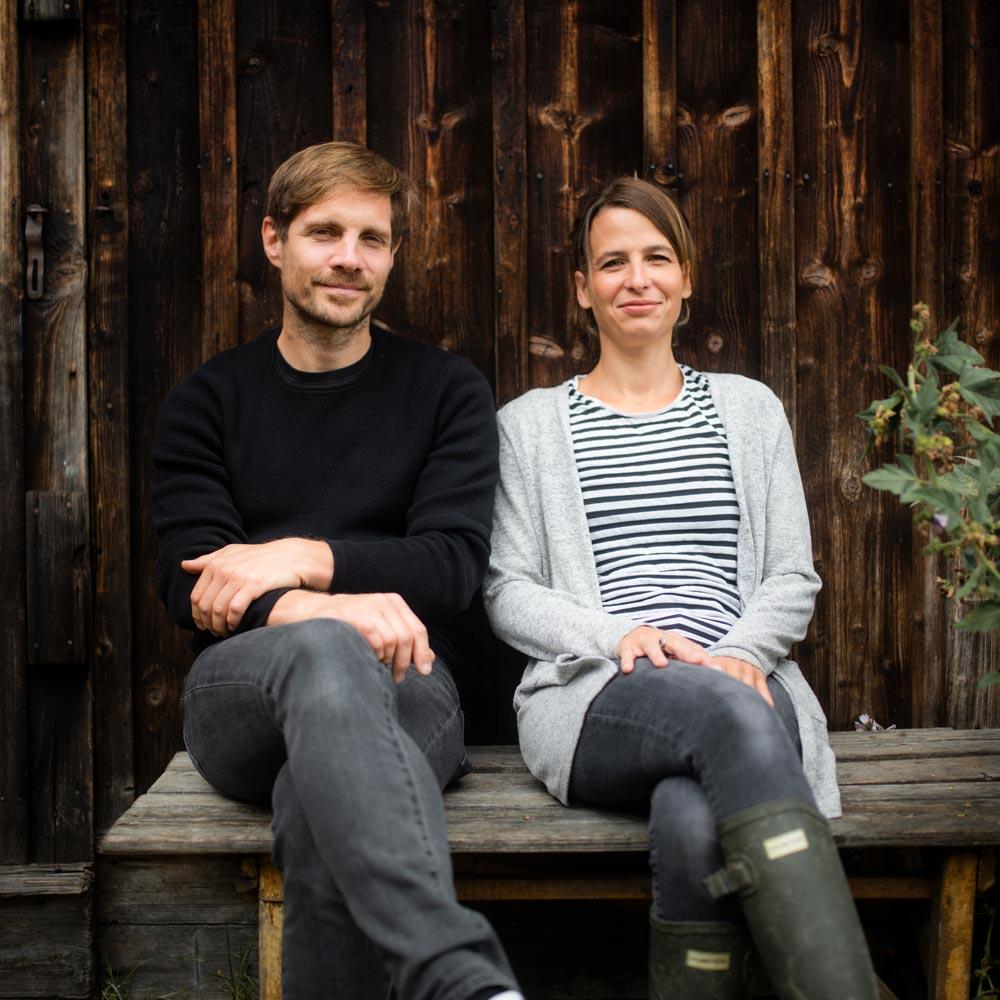 Harald Hackel und Brigitte Baldrian
